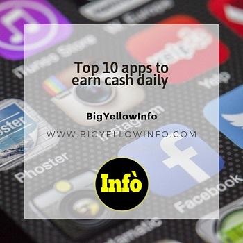 Top 10 daily cash app in 2020